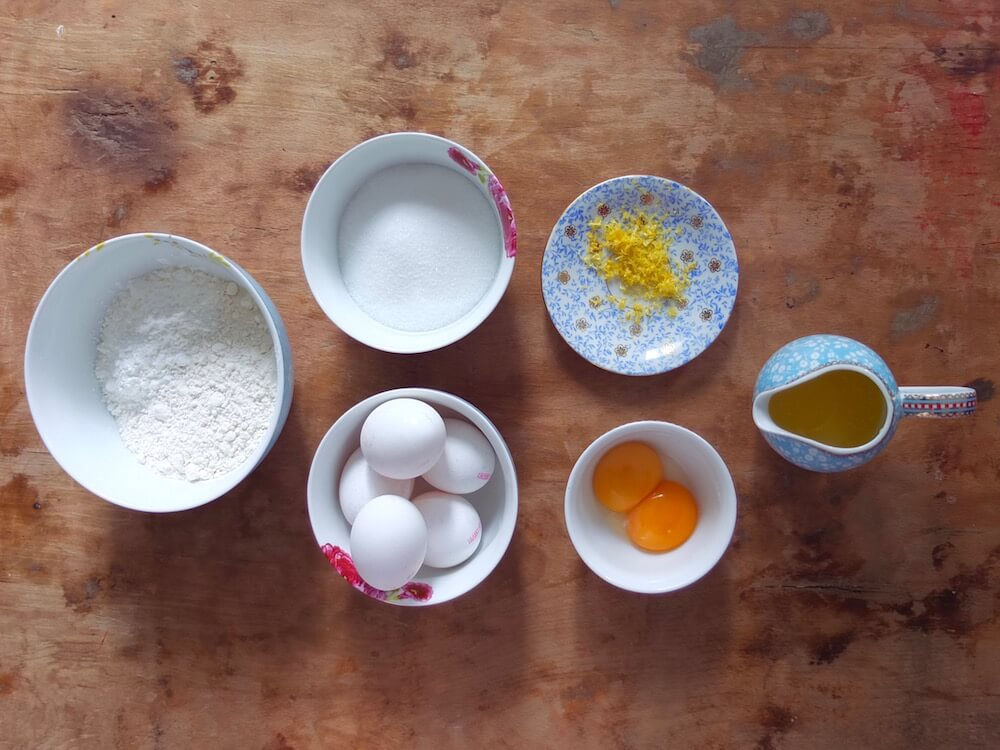 Zutaten Himbeer-Mascarpone-Törtchen - La Crema Patisserie Foodblog Backblog