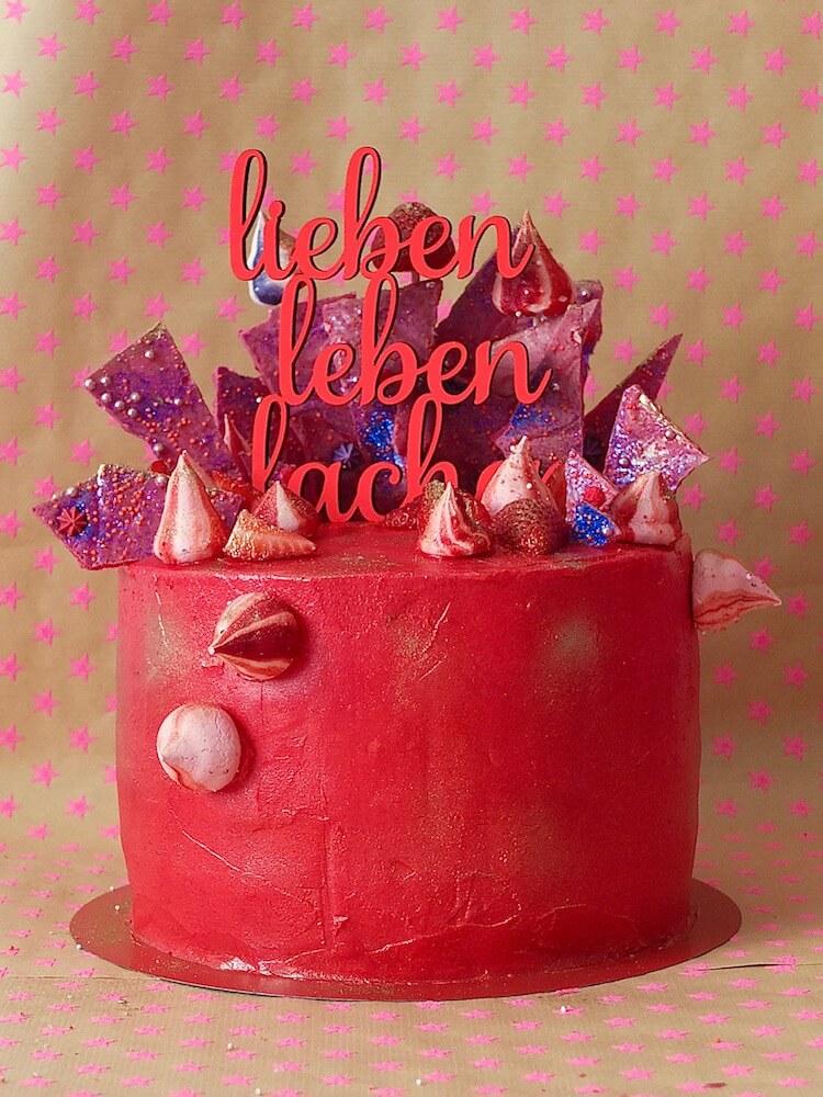 Erdbeer-Basilikum-Torte - La Crema Patisserie Foodblog Backblog