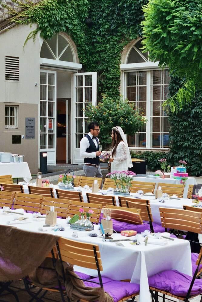 Brautpaar - (Hochzeit Idil & Sebastian) - La Crema Patisserie Foodblog Backblog