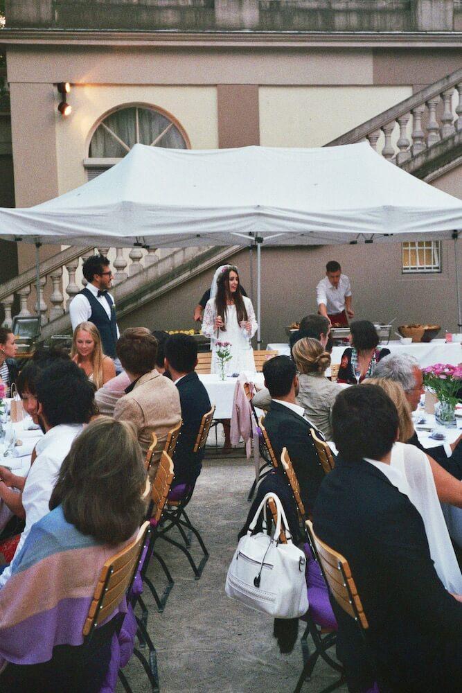 Hochzeitsgesellschaft - (Hochzeit Idil & Sebastian) - La Crema Patisserie Foodblog Backblog