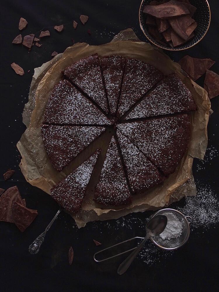 Gâteau au Chocolat | Schokoladentarte - La Crema Patisserie Food- und Backblog