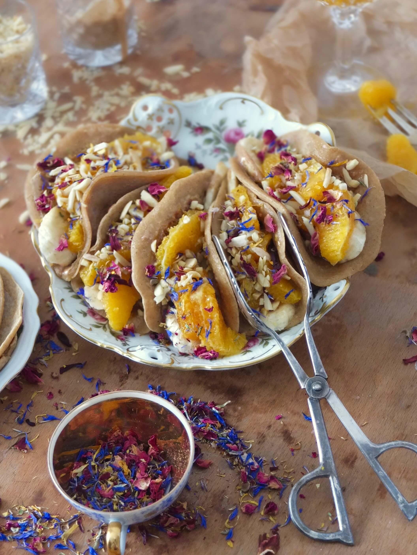 Süße Pancake Tacos | La Crema Patisserie Food- und Backblog