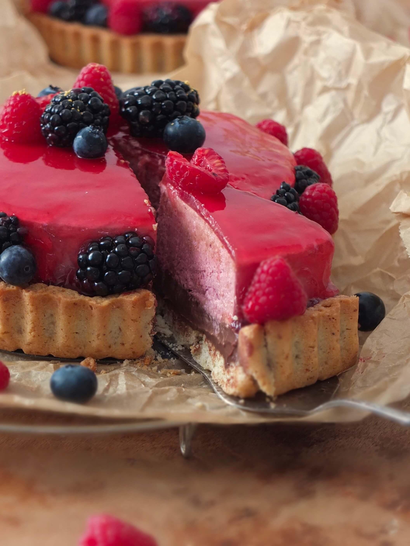 Waldbeer-Schokoladen-Tarte | La Crema Patisserie Food- und Backblog