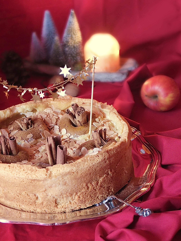 Bratapfelkuchen | La Crema Adventskalender - La Crema Patisserie Food- und Backblog