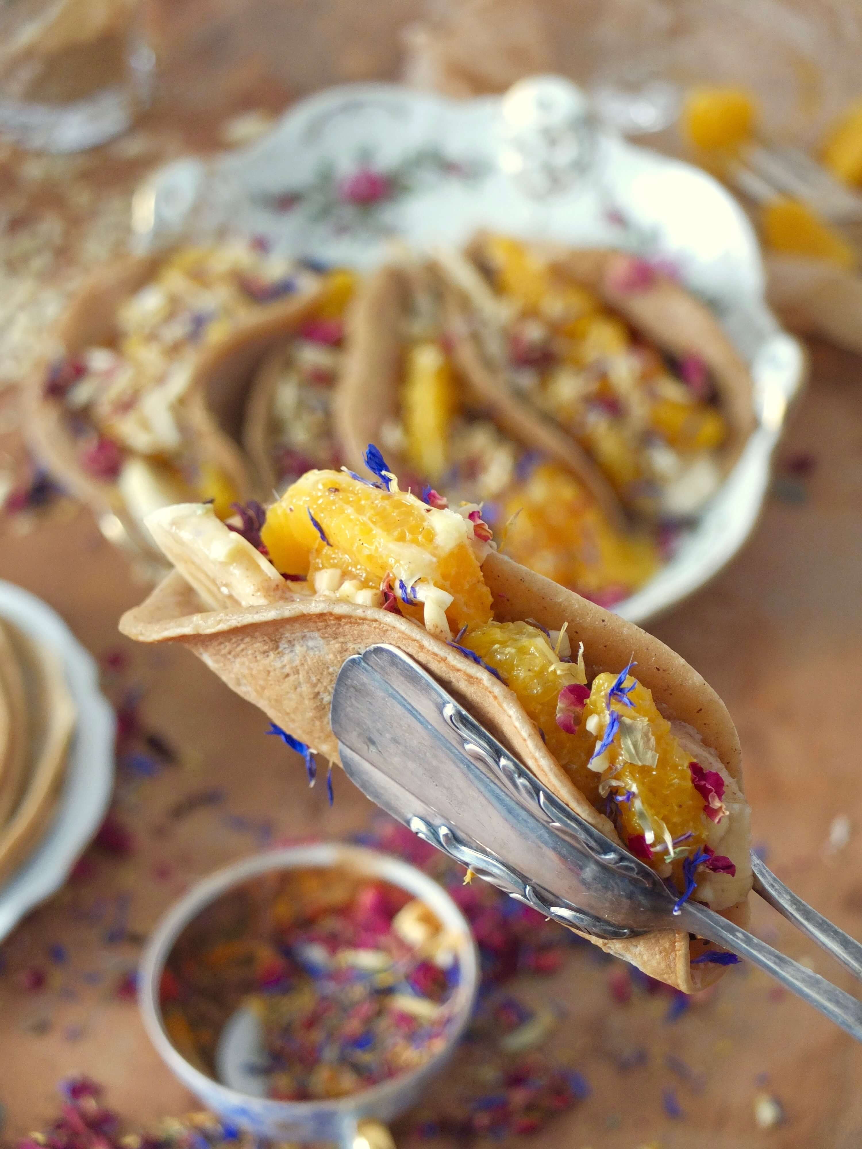 Süße Pancake Tacos   La Crema Patisserie Food- und Backblog