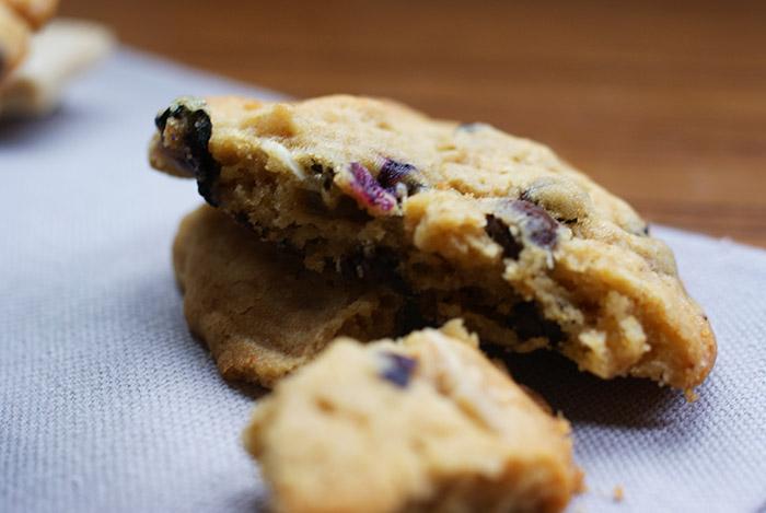 Blaubeer Cookies | Rezept