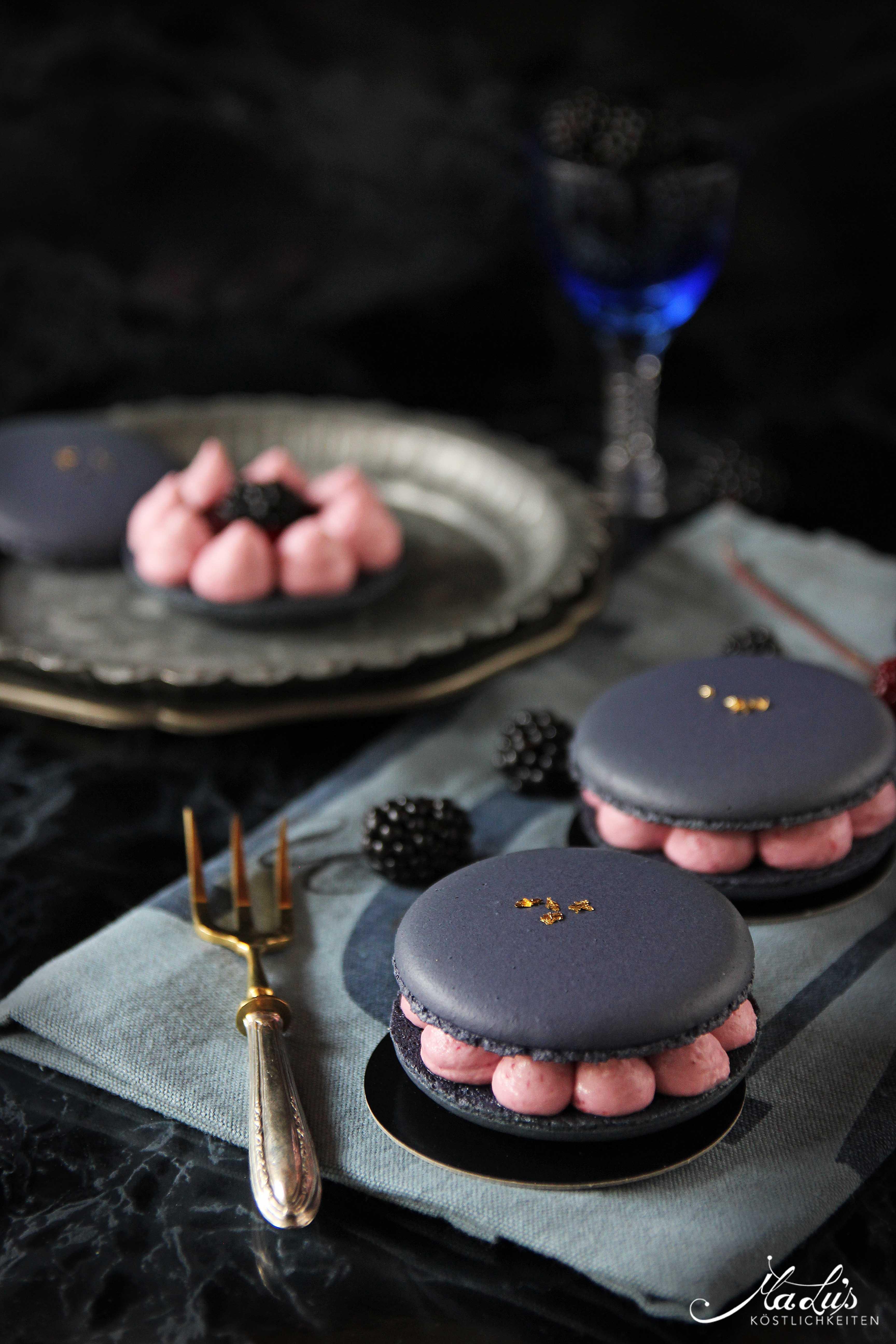 Brombeer Macarons | Rezept