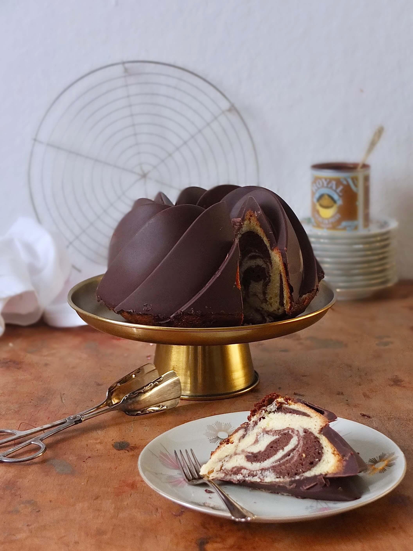 Marmorkuchen   Rezept für einen klassischen Gugelhupf