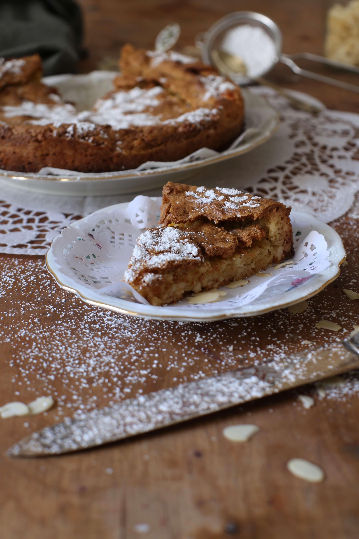 Torta di Mandorle   Rezept für eine italienische Mandeltarte