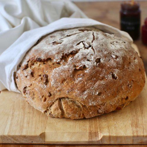 Köstliches Walnussbrot | Rezept mit Hefe