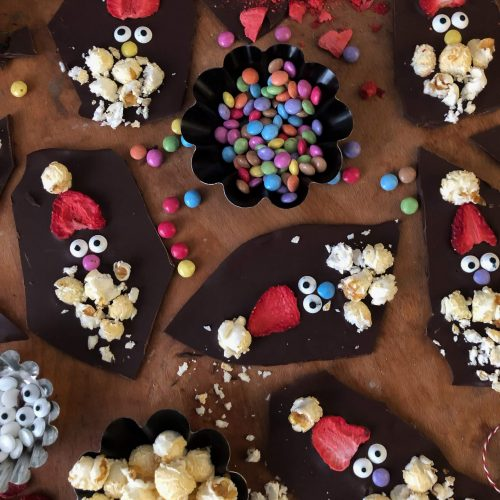 Weihnachtsmann Bruchschokolade | Last Minute Geschenkidee | Rezept