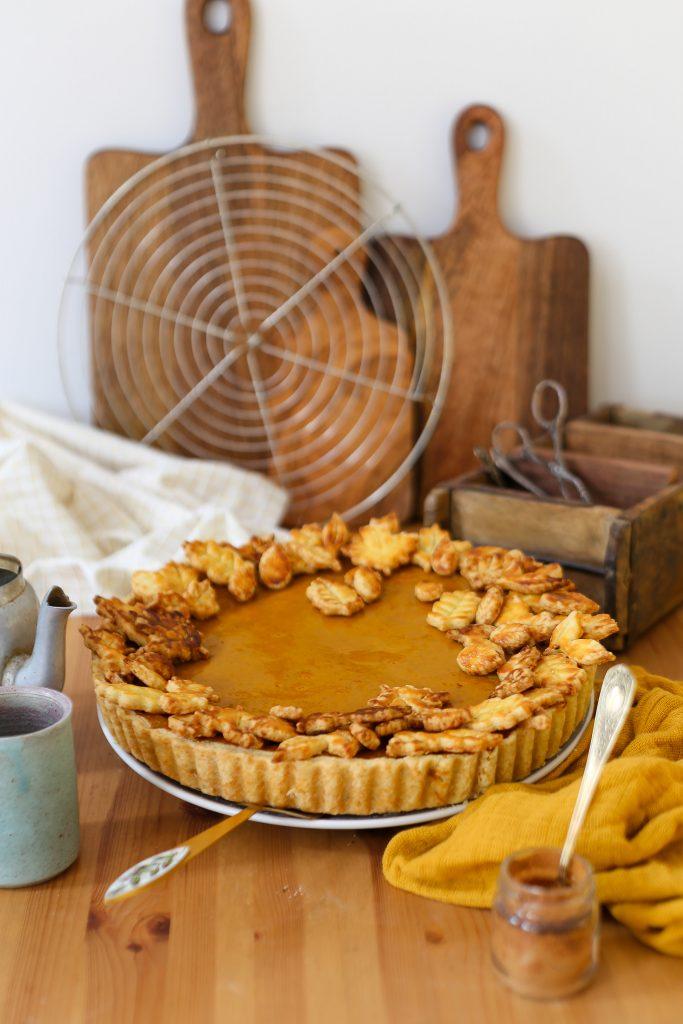 Pumpkin Pie   Rezept für eine Kürbis Tarte