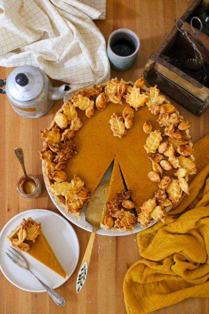 Pumpkin Pie | Rezept für eine Kürbis Tarte