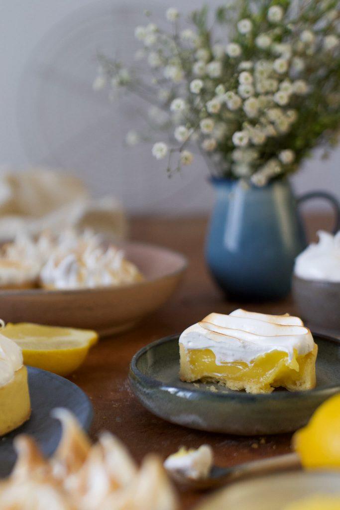 Tartelettes au Citron Meringuée | Rezept
