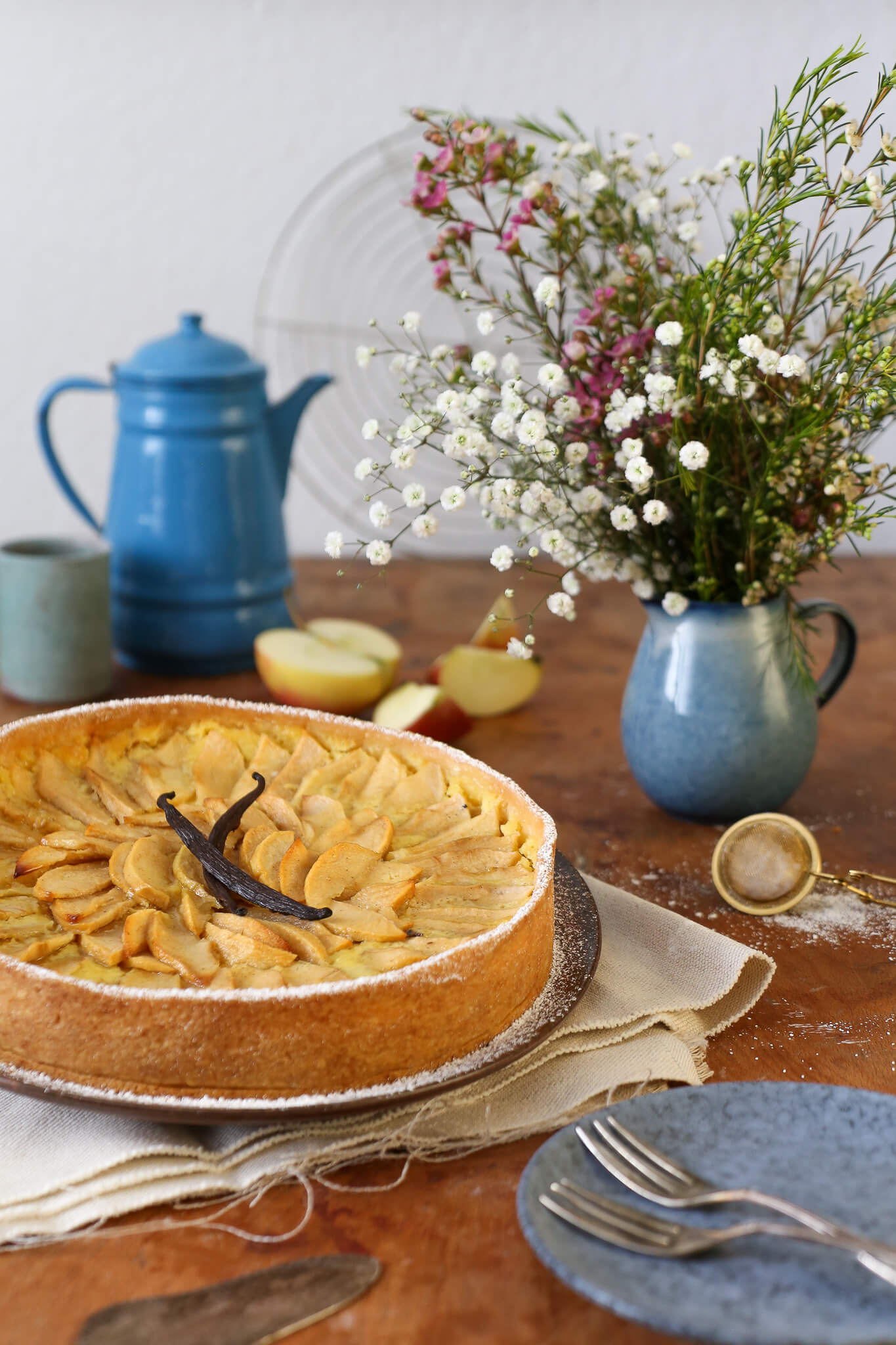 Tarte aux Pommes – französischer Apfelkuchen | Rezept