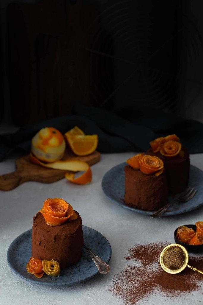Schoko-Orangen-Törtchen | Rezept