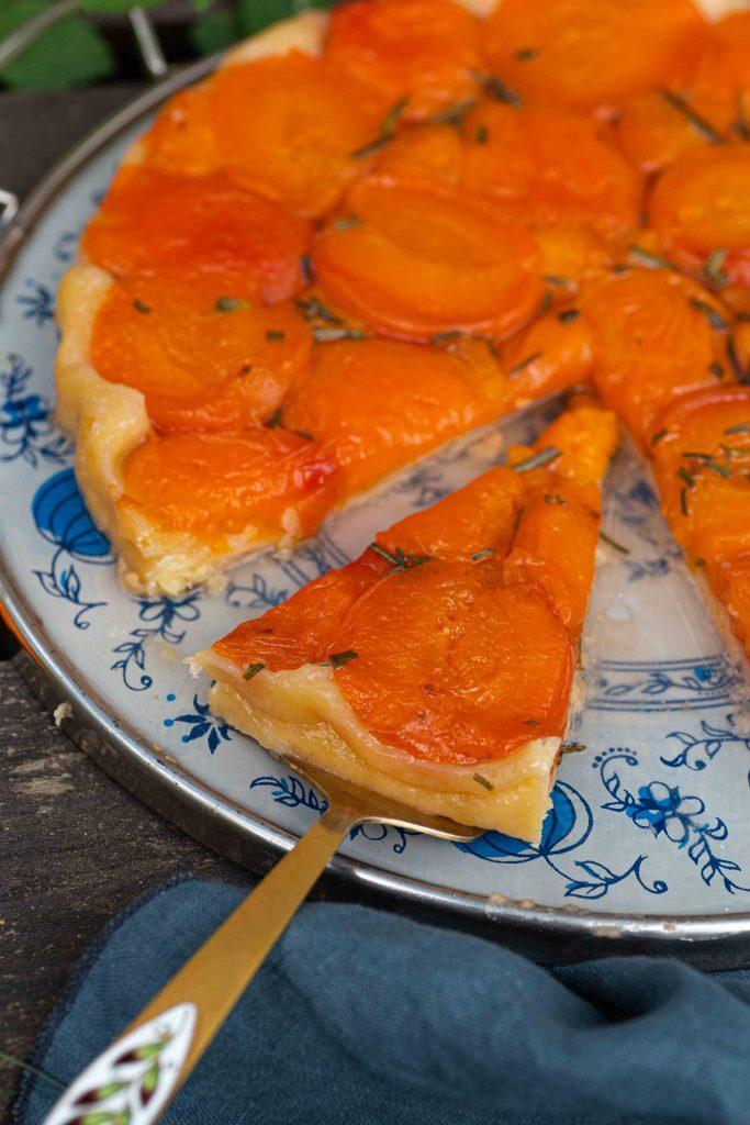 Aprikosen Tarte Tatin | Rezept