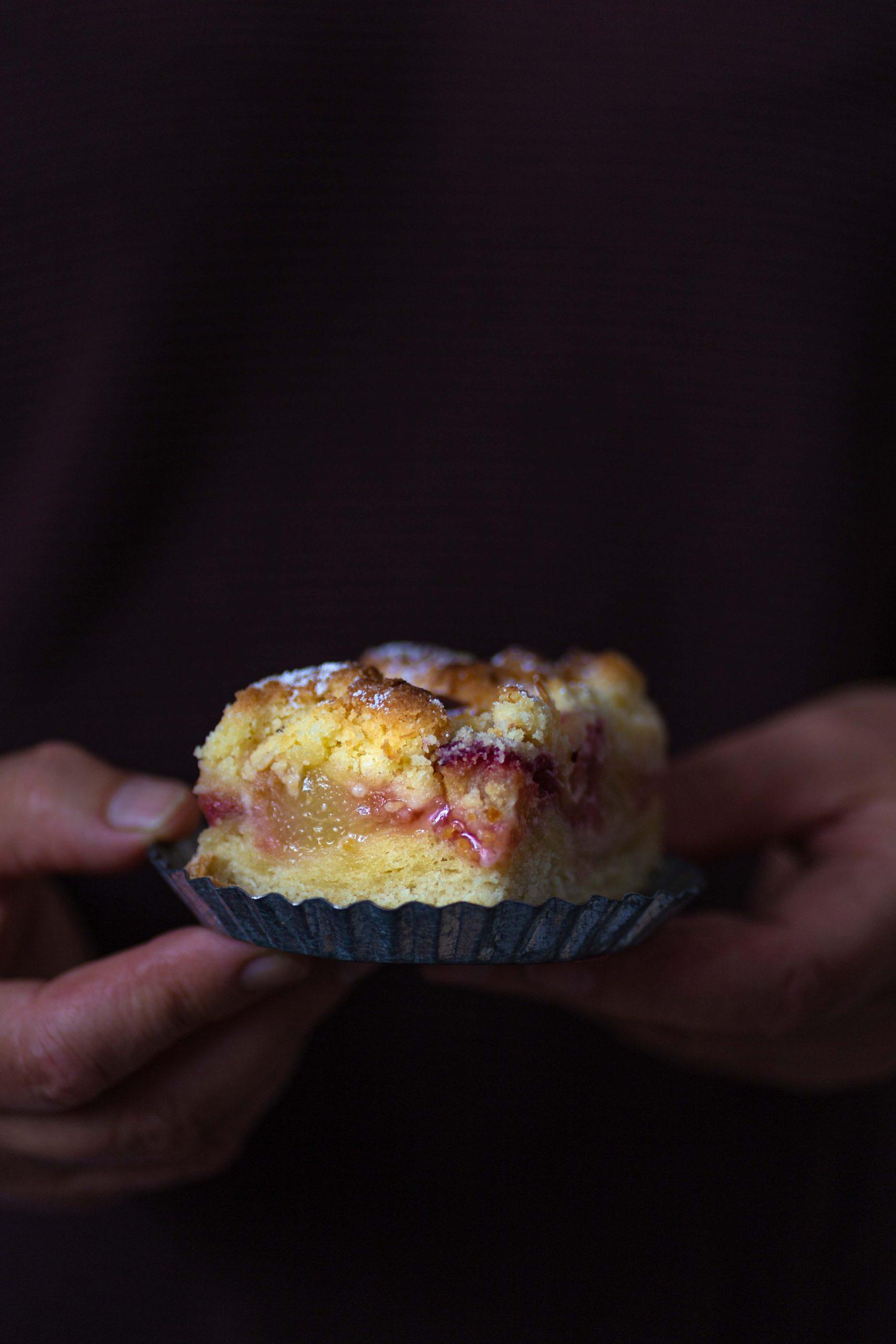 Pfirsich Streuselkuchen | Rezept