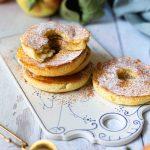 Kaiserschmarrn Donuts mit Apfel   ohne Frittieren   Rezept