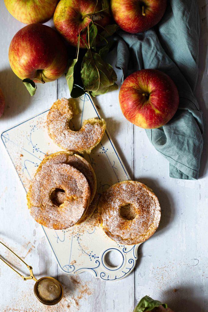 Kaiserschmarrn Donuts mit Apfel | ohne Frittieren | Rezept