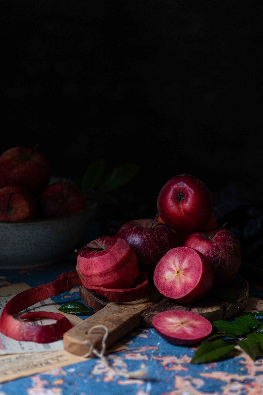 Apfelpfannkuchen mit Hefe | Rezept
