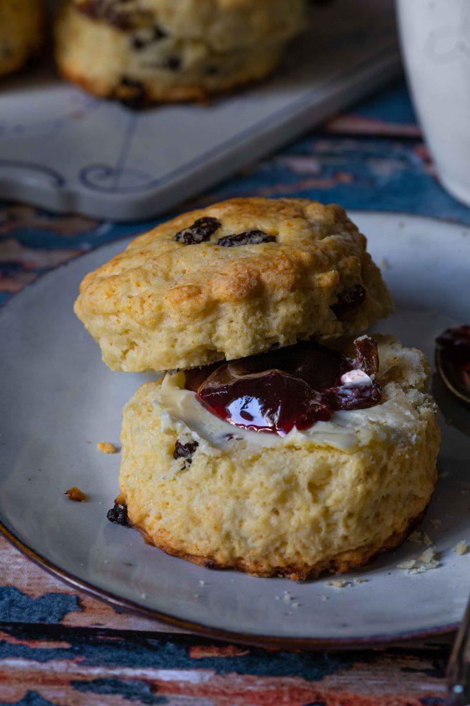 Britische Scones für's Osterfrühstück | Rezept