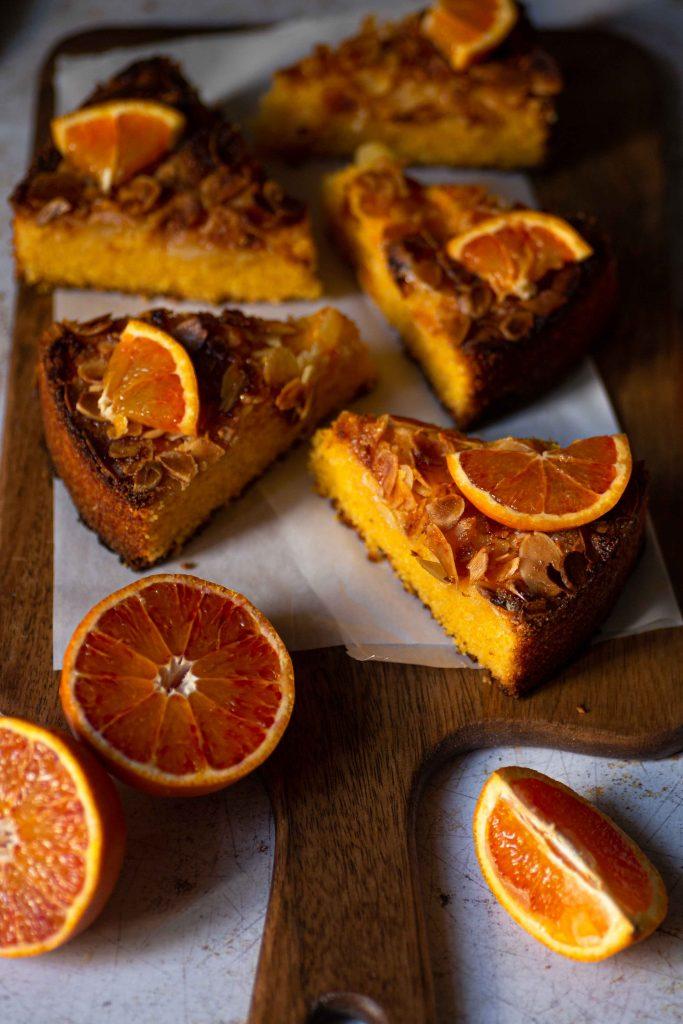 Polenta Orangen Kuchen | Rezept