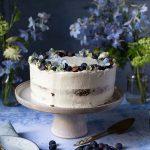 Carrot Cake mit Blaubeeren   Rezept